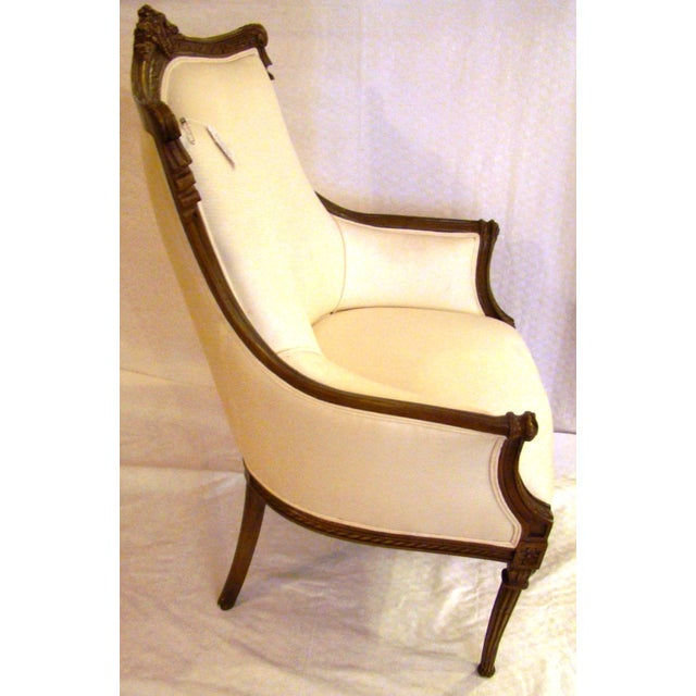 Vintage French-Style Club Chairs - A Pair - Image 5 of 9