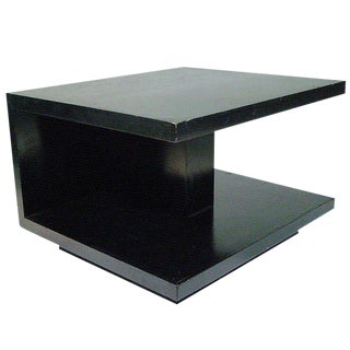 Van Keppel and Green Geometric Side Table For Sale