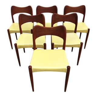 Arne Hovmand-Olsen Teak Dining Chairs - Set of 6 For Sale