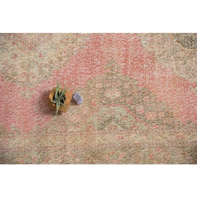 "Textile Vintage Distressed Sparta Rug Runner - 5' x 14'9"" For Sale - Image 7 of 13"