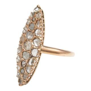 Victorian Diamond Slice Ring For Sale