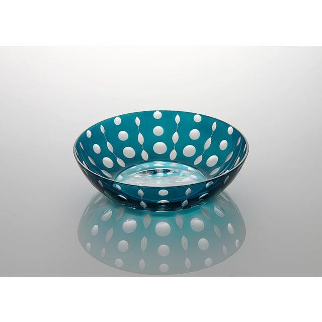 Traditional Perla Trinket Bowl II, Peacock For Sale - Image 3 of 3