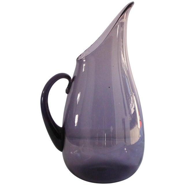 Blenko Amethyst Glass Pitcher - Image 1 of 4