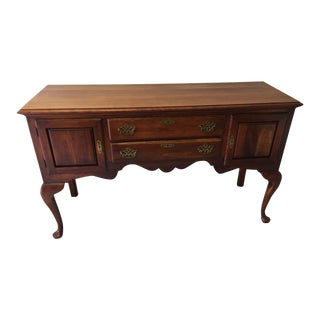 Vintage Statton Queen Anne Sideboard For Sale