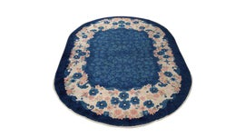 Image of Newly Made Oval Rugs
