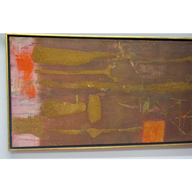 1960s Abstract Painting by Gyorgy Kepes For Sale - Image 5 of 9