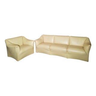 Mario Bellini Tentazione Sofa and Lounge Chair - 2 Pc. Set