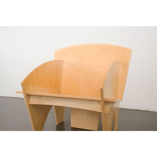 Tan Puzzle Chair For Sale - Image 8 of 9