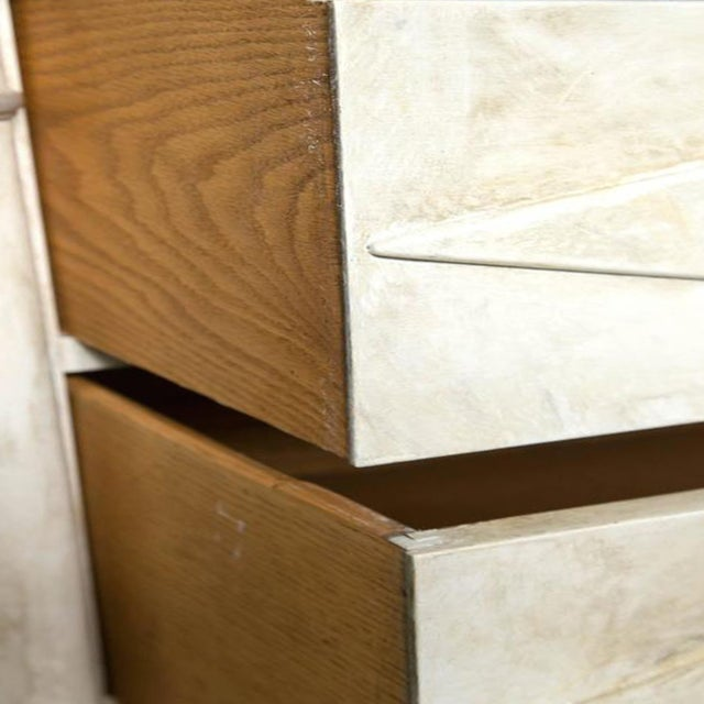 Faux Painted Marble Top Dressers- A Pair - Image 6 of 9