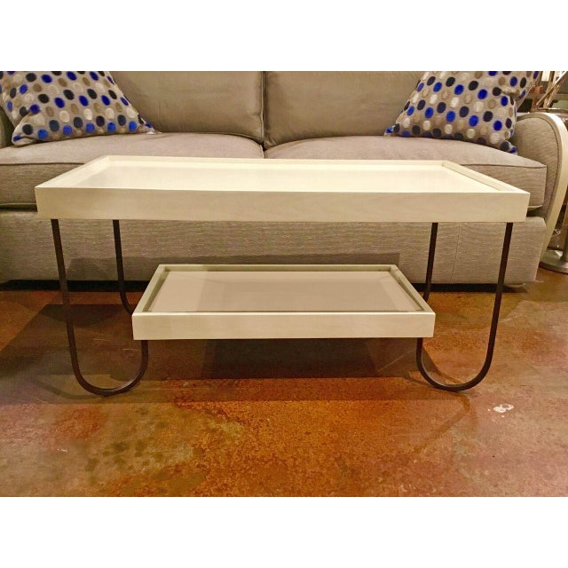 Hickory Chair Jacques Coffee Table - Image 2 of 8
