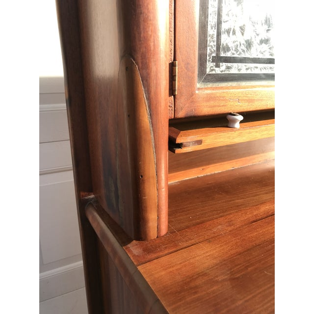 Early 20th Century Antique Art Deco Teak and Marble Dentist's Chest For Sale - Image 10 of 12