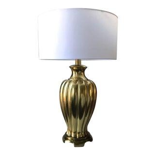Mid-Century Paul Hanson Brass Lamp