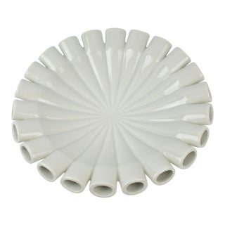 Contemporary White Klein Reid Porcelain Bowl