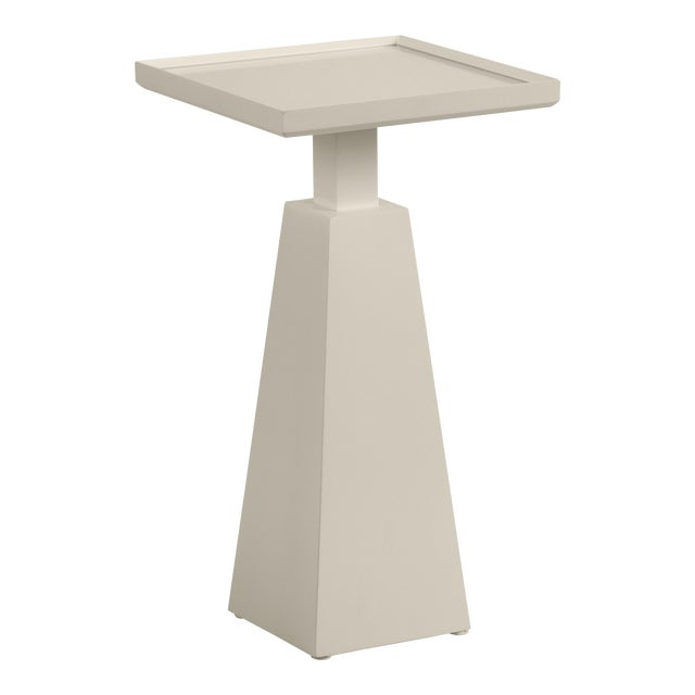 Casa Cosima Hayes Spot Table, Revere Pewter For Sale