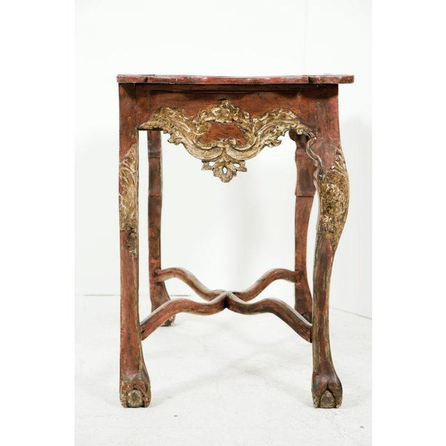 18th Century Colonial Baroque Console For Sale - Image 5 of 11