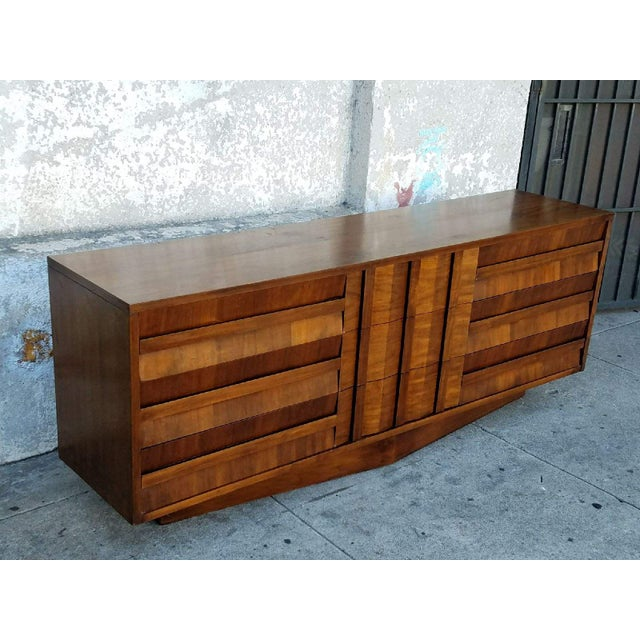 Vintage Lane Walnut Dresser - Image 3 of 6