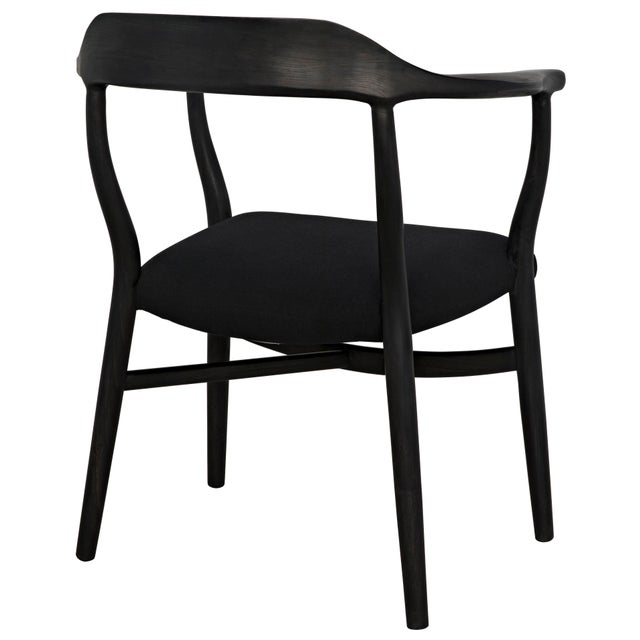 2010s Rey Chair, Charcoal Black For Sale - Image 5 of 7