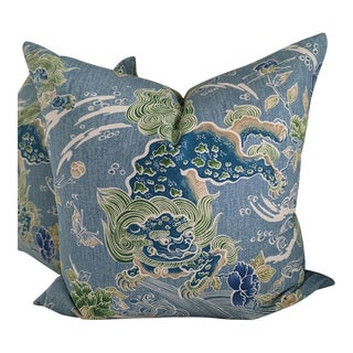 Shi Shi by Brunschwig & Fils Pillow Cover For Sale