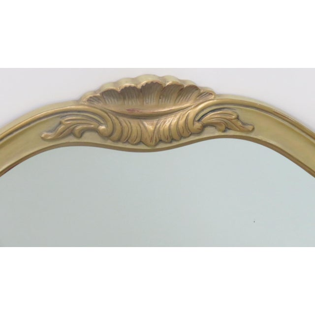 French Provincial Style Paint Decorated Mirror - Image 3 of 6