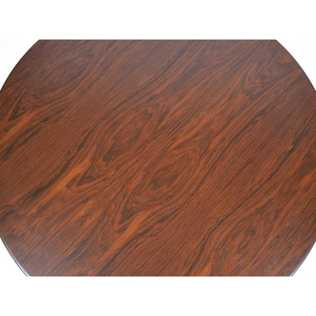 Ward Bennett Rosewood and Aluminum Coffee Table by Lehigh For Sale - Image 10 of 11