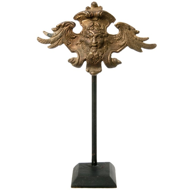 Brass Wing Ornament on Stand - Image 1 of 3