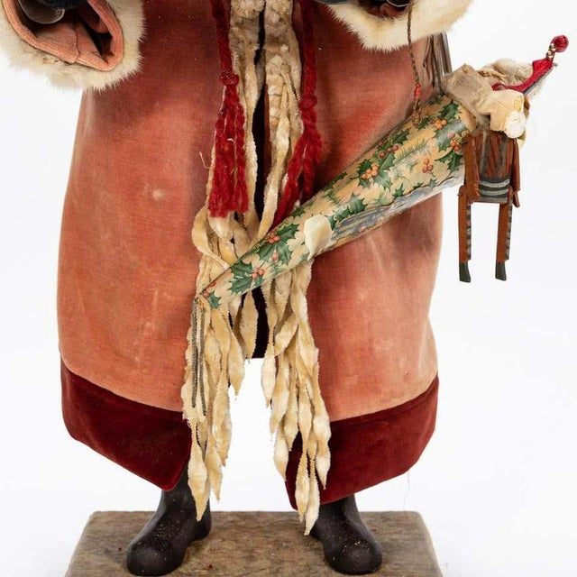 Large Vintage Father Christmas Figure For Sale In West Palm - Image 6 of 8