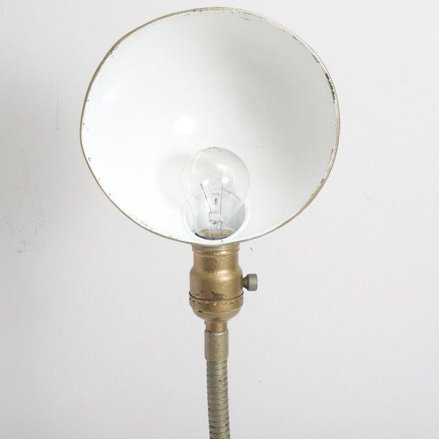 Vintage Gooseneck Lamp For Sale - Image 5 of 6