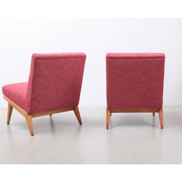 Jens Risom Pair of Jens Risom 21 Chair 1940s USA for Knoll Associates For Sale - Image 4 of 7