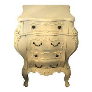 Antique White Shabby Chic Nightstand