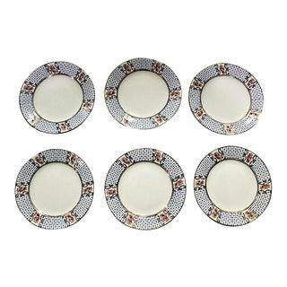 English Allerton's Plates - Set of 6
