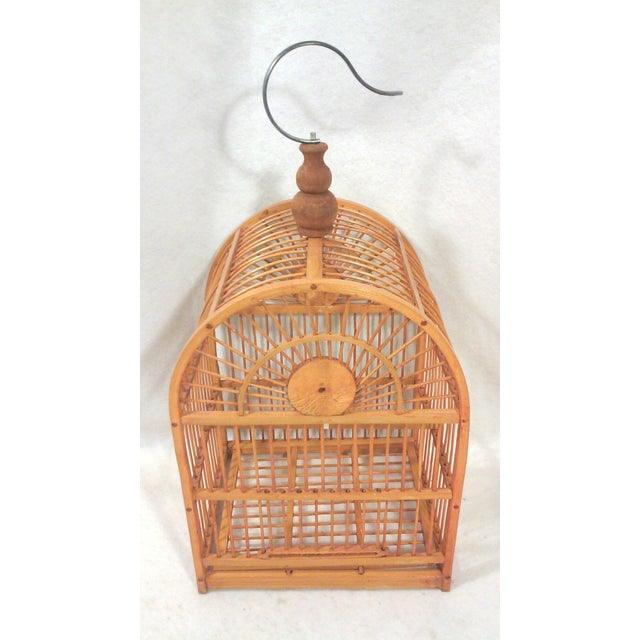 Hanging Decorative Bird Cage - Image 4 of 5
