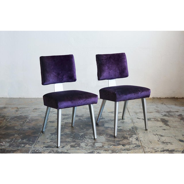General Fireproofing Co. Purple Chairs - A Pair - Image 2 of 6