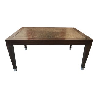 Contemporary Donghia Style Coffee Table For Sale