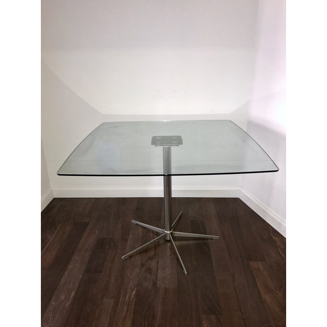Square Glass Dining Table - Image 2 of 10