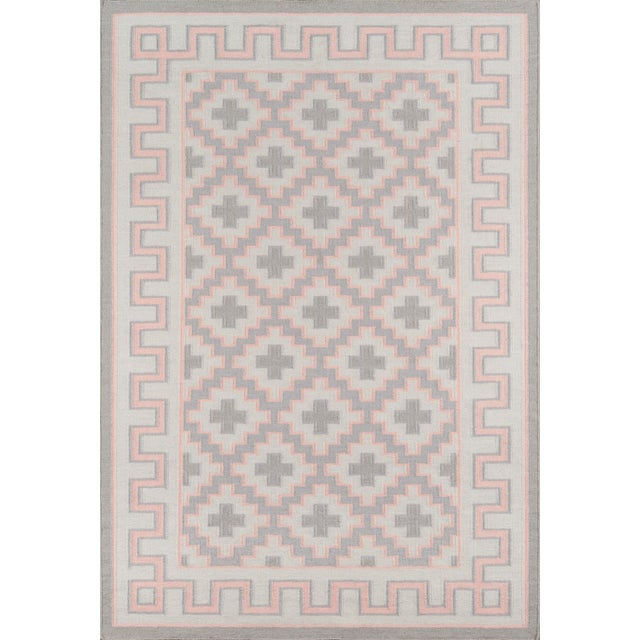 "Textile Erin Gates by Momeni Thompson Brookline Pink Runner Hand Woven Wool Area Rug - 2'3"" X 8' For Sale - Image 7 of 8"
