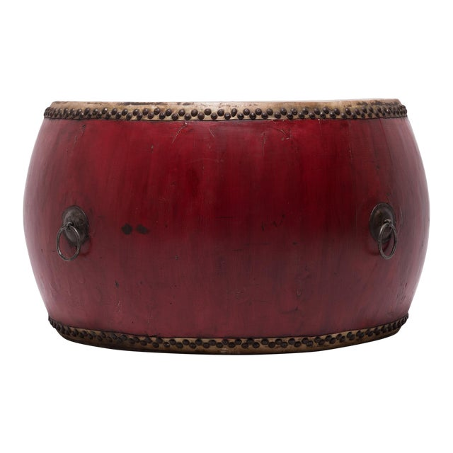 Early 20th Century Chinese Opera Drum For Sale