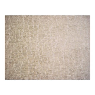 Vervain Oakbark Riverstone Textured Chenille Upholstery Fabric- 3 3/8 Yards For Sale