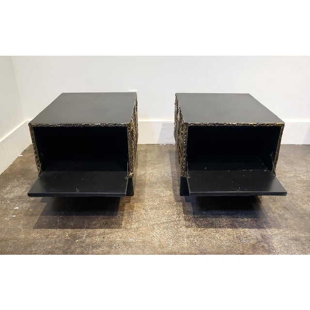 Adrian Pearsall Adrian Pearsall Brutalist Side or Coffee Tables a Pair For Sale - Image 4 of 11