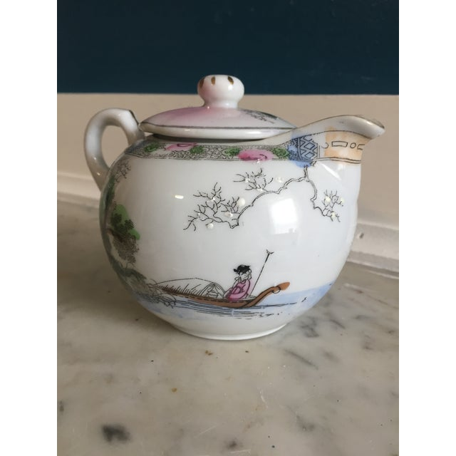 Japanese Vintage Tea Pot - Image 3 of 5