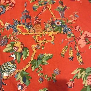 "Bassett McNab Co ""Oriental Sage"" Fabric For Sale"
