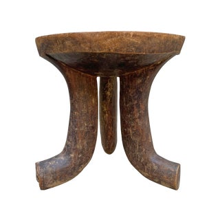 Early 20th Century Vintage Ethiopian Stool For Sale