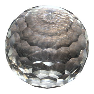 Decorative Cut Glass Ball For Sale