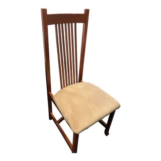 Modern Stickley-Style Desk Chair For Sale