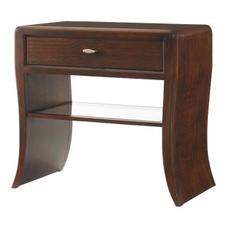 Century Furniture Paragon Club Waterfall Nightstand For Sale