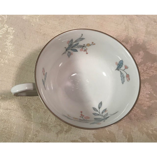 Mid-Century Bavarian China Cups & Saucers For Sale - Image 11 of 11