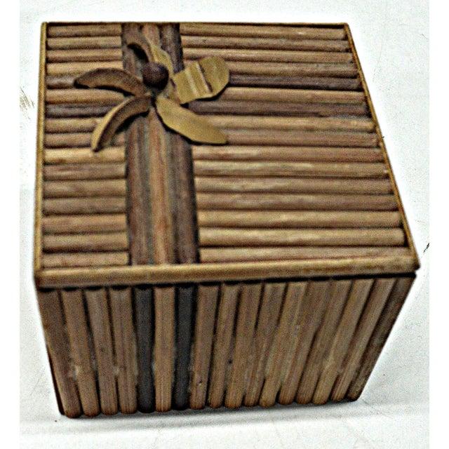 Rustic Wooden Stick Cigarette Box - Image 9 of 9