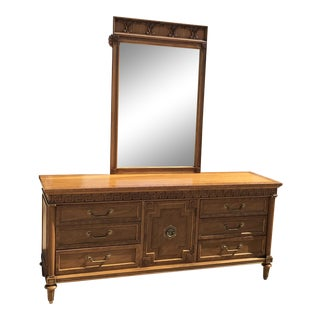Mid-Century Thomasville Dresser & Mirror