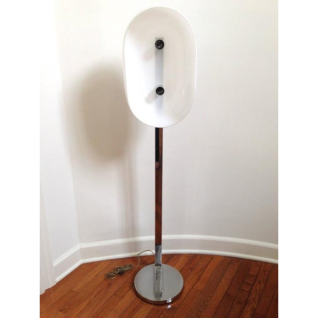 Chrome Floor Lamp - Image 4 of 10