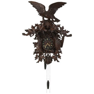 Massive 19th Century Black Forest Cuckoo Clock For Sale