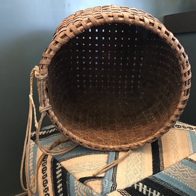 Antique Chinese Basket - Image 7 of 9